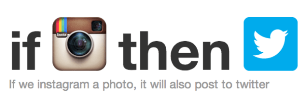 ifttt - if instagram then twitter