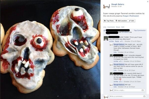 social media customer service facebook zombie cookies