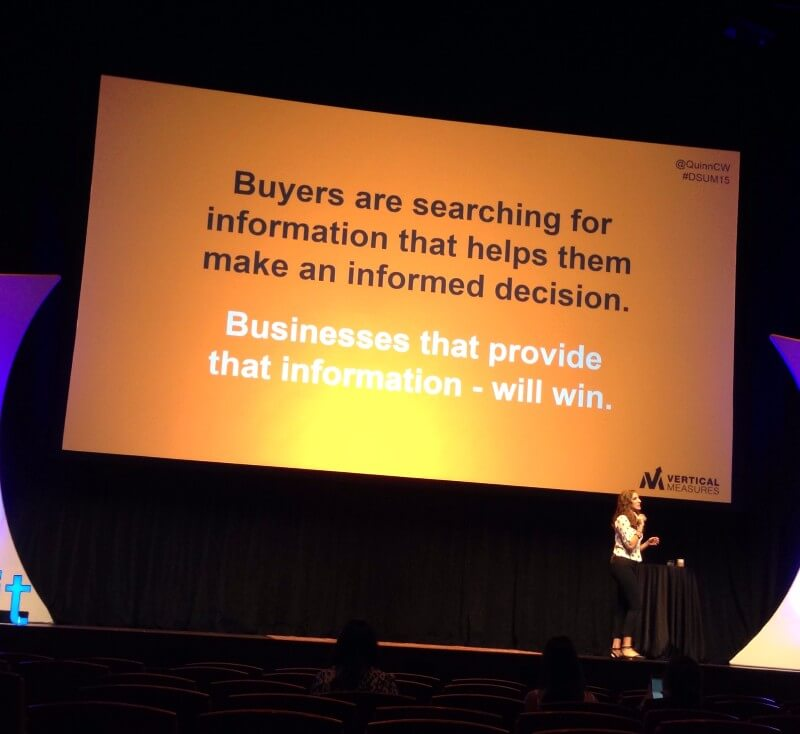 why does your small business need a blog - people are searching for info that helps they make purchase decisions