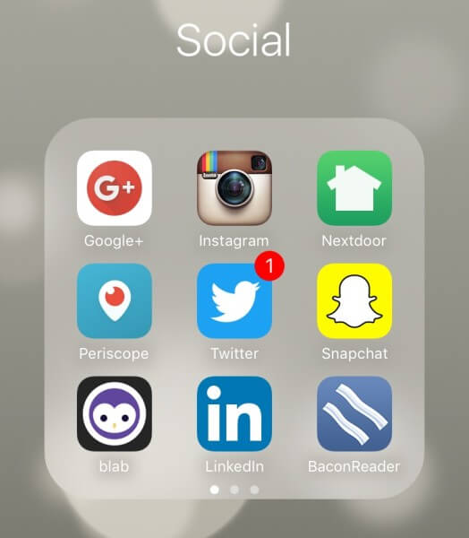 free mobile apps for social media