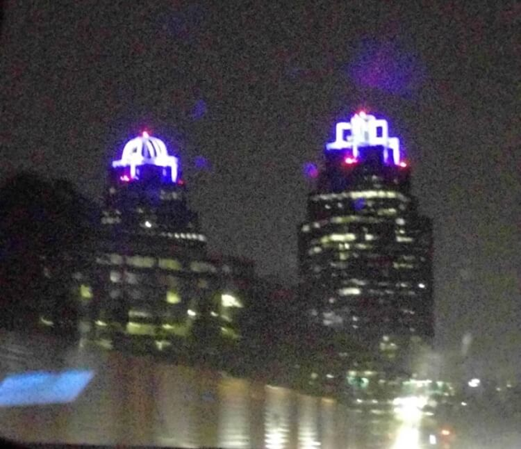 Prince tribute king and queen building